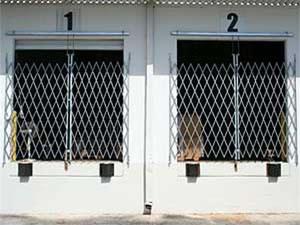 loading dock scissor gate